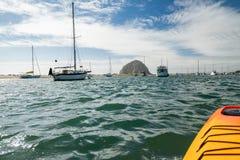 Kayaking przy Morro zatok?, Kalifornia zdjęcia royalty free