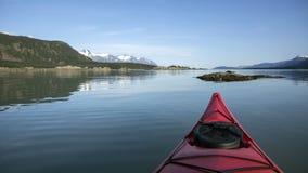 Kayaking Southeast Alaska Stock Photos