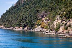 Kayaking on Vancouver Island Royalty Free Stock Photo