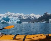 Kayakingsprins William Sound Stock Afbeeldingen