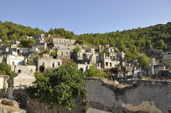 Kayakoy town in Turkey Stock Photos