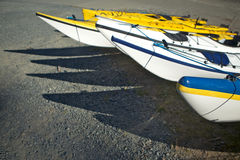 kayaks море океана Стоковое Изображение RF