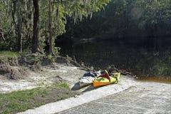Kayaks на Fe Sante Стоковое Изображение RF