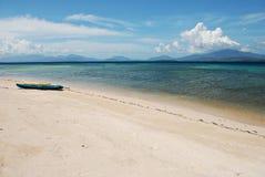 kayaks пляжа Стоковое фото RF