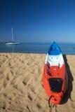 kayaks солнечний свет моря Стоковые Фото