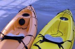 Kayaks photographie stock libre de droits