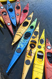 Kayaks Photo libre de droits