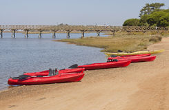 Kayaks Image stock