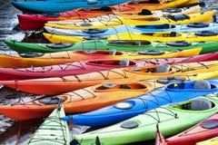 Kayaks Images libres de droits