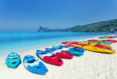 Kayaks photos stock