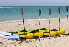 Kayaks Stock Photo