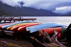 Kayaks Royalty Free Stock Image