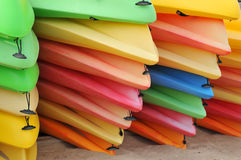 Kayaks Photographie stock