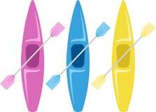 Kayaks Image stock