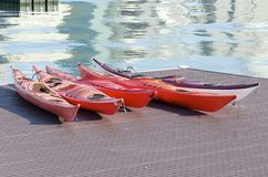 Kayaks Images stock
