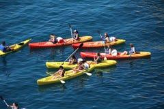 kayaks стоковое фото
