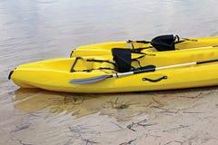 kayaks Стоковые Фотографии RF