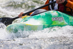 Kayaks in action Stock Images