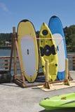 Kayaks In Astoria Oregon. Stock Photos