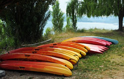 Kayaks Royalty Free Stock Photo