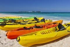 Kayaks Stock Photos
