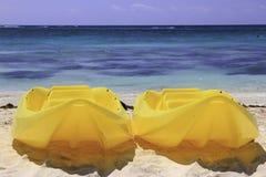 Kayaks Royalty Free Stock Photos