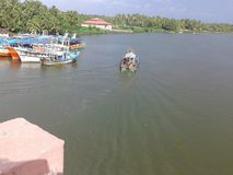 Kayamkulam, Alappuzha Dist Kerala Zdjęcie Stock