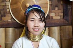 Kayan Lahwi woman Royalty Free Stock Photos