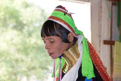 Kayan Lahwi woman Royalty Free Stock Image