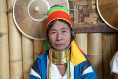 Kayan Lahwi woman Stock Photos