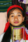 Kayan woman. The Kayan are a group of the Karenni people, a Tibeto-Burman ethnic minority of Burma (Myanmar Stock Photography