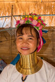 Kayan woman. In the Long neck village Royalty Free Stock Image