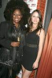 Kaylah Marin en Natalia Flores  Royalty-vrije Stock Foto's