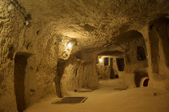 Kaymakli Underground City Royalty Free Stock Images