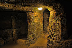 Kaymakli Underground City Stock Photos