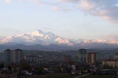 Kayseri y montaje Erciyes, Turquía Fotos de archivo libres de regalías