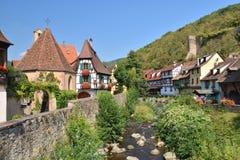 """Kaysersberg, †""""Elsaß de Alsácia, França Imagem de Stock Royalty Free"""