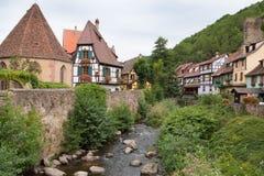 Kaysersberg в Эльзасе, Франции Стоковая Фотография
