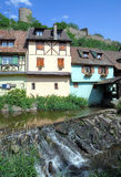 Kaysersberg,Alsace,France Royalty Free Stock Photo