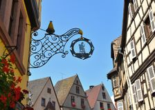 Kaysersberg, Alsace – Elsaß, France Royalty Free Stock Photo