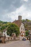 Kaysersberg castle, Alsace, France Stock Photos