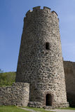 Kaysersberg, excursão du château do la foto de stock royalty free