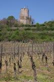 Kaysersberg, excursion du château de La Photos libres de droits
