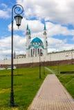 Kazán el Kremlin y Kul Sharif Foto de archivo libre de regalías
