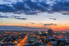 Kazán por noche Foto de archivo libre de regalías