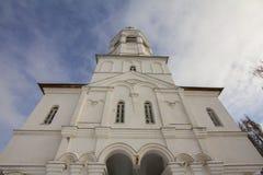 Kazán, Rusia, el 9 de febrero de 2017, entrada principal en el monasterio de Zilant - el edificio ortodoxo más viejo Fotografía de archivo
