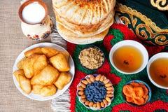 Kazach jedzenie obraz stock