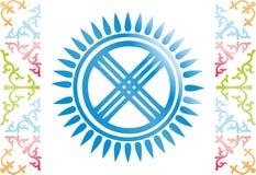kazach wzór Zdjęcia Royalty Free