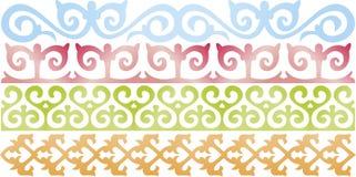 Kazach wzór Zdjęcia Stock