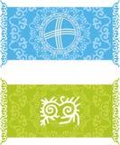 Kazach wzór Obrazy Royalty Free